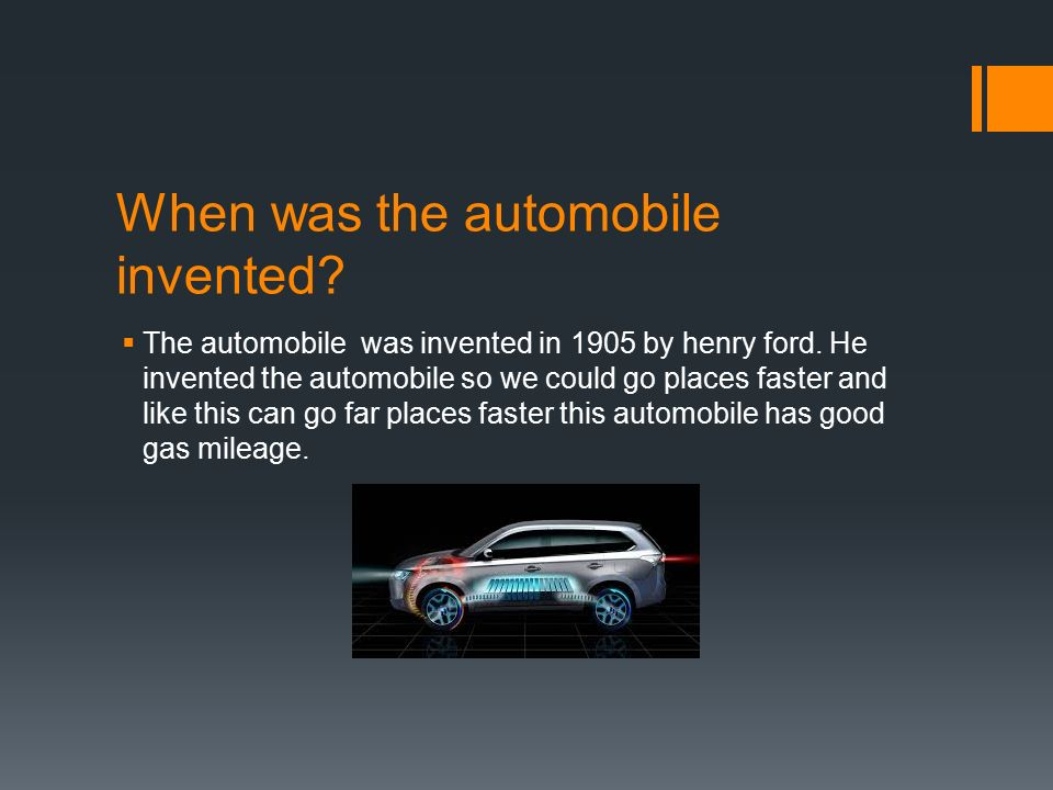 Automobile. When was the automobile invented?  The automobile was ...