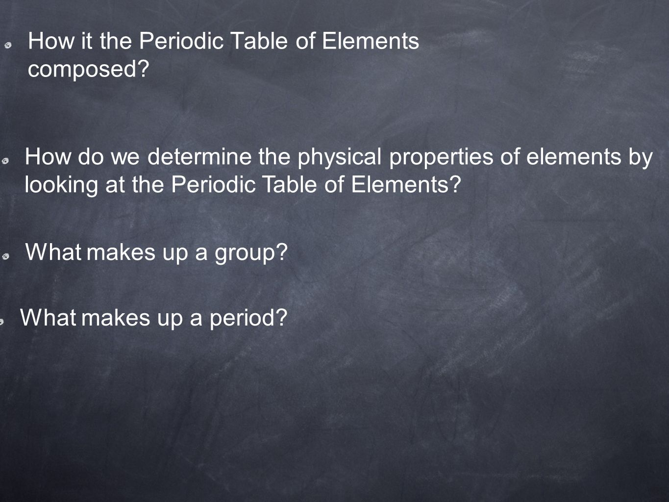 how it the periodic table of elements composed - Periodic Table Of Elements Html