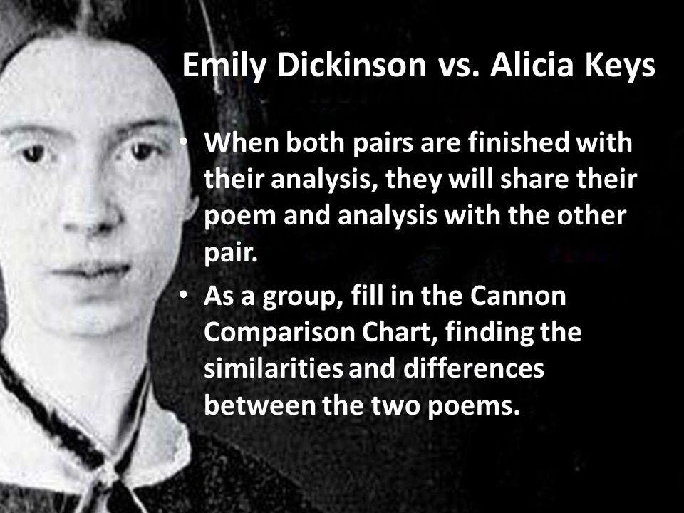 Emily Dickinson vs.