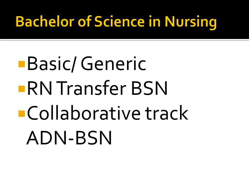 comparison of adn and bsn rn