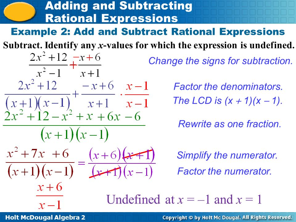 Submit A Paper Douglas College Subtracting Rational Expressions