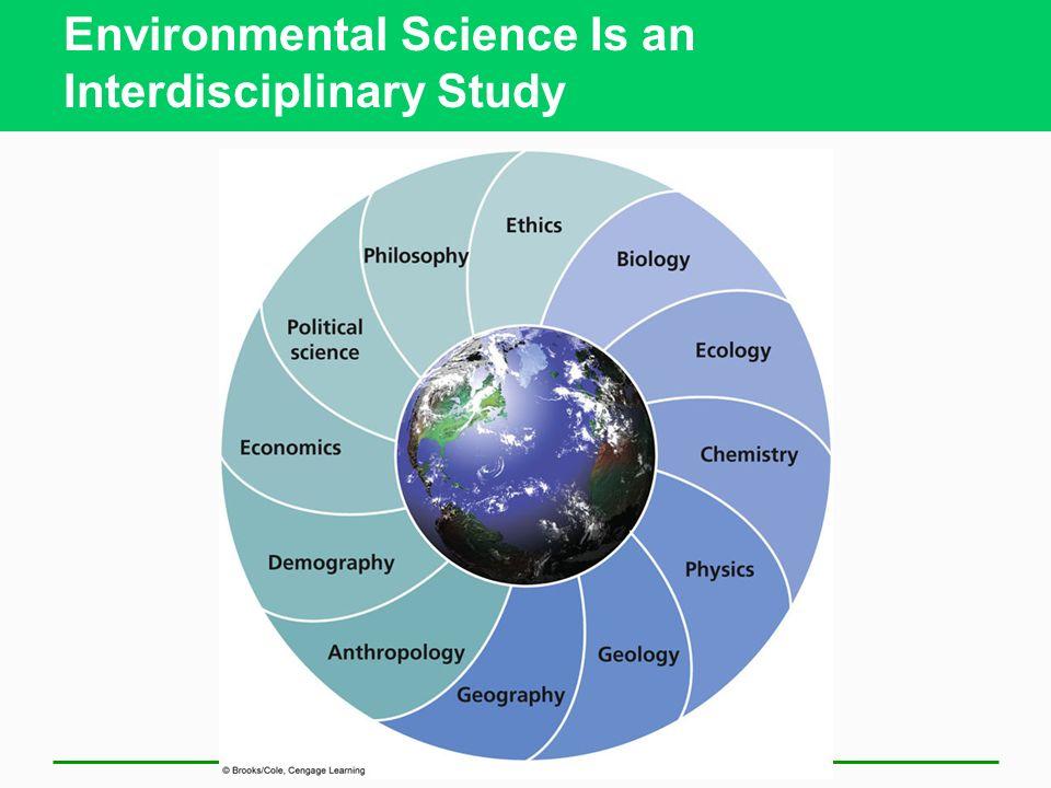 Environmental Science Is an Interdisciplinary Study