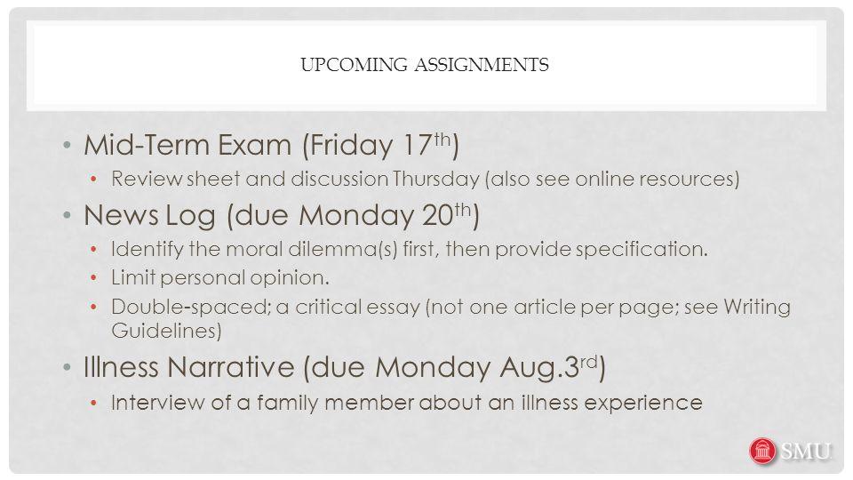 assignment 3 midterm exam ob