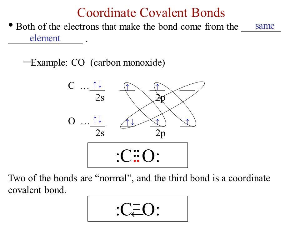 Ch. 12 Notes---Covalent Bonds Covalent Bonds ______ electrons ...