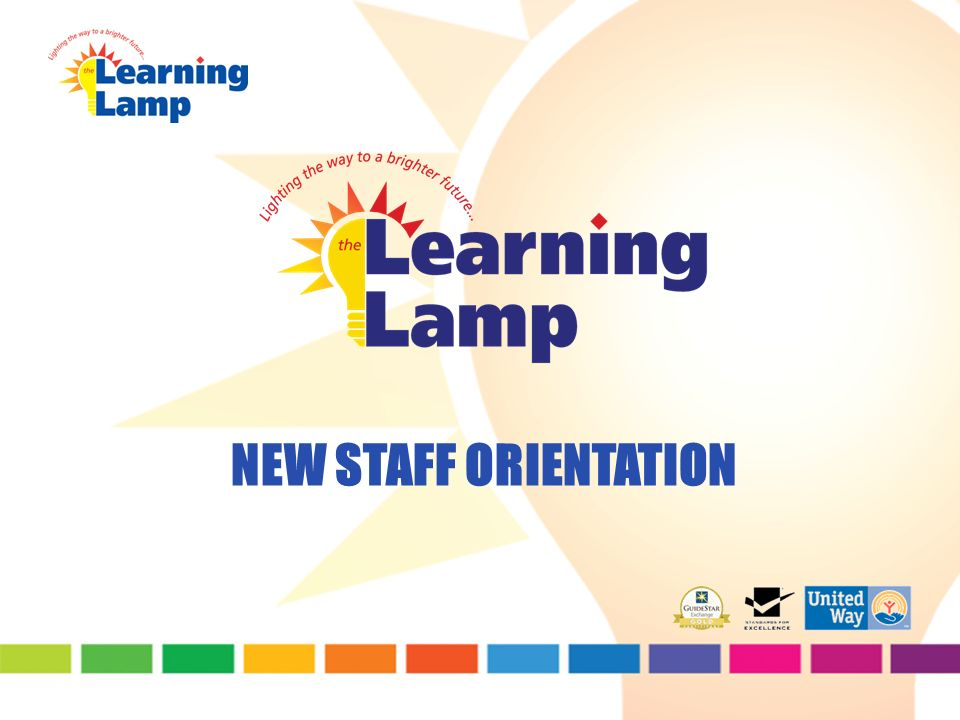 1 NEW STAFF ORIENTATION