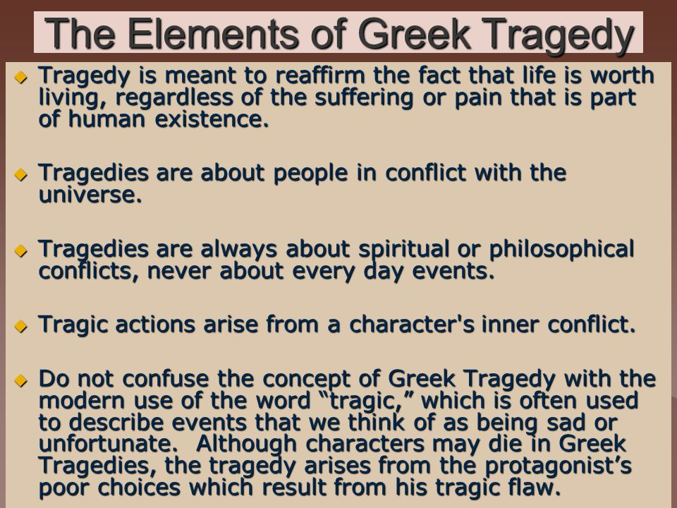 the tragedy of tragedies in the case of sophocles oedipus