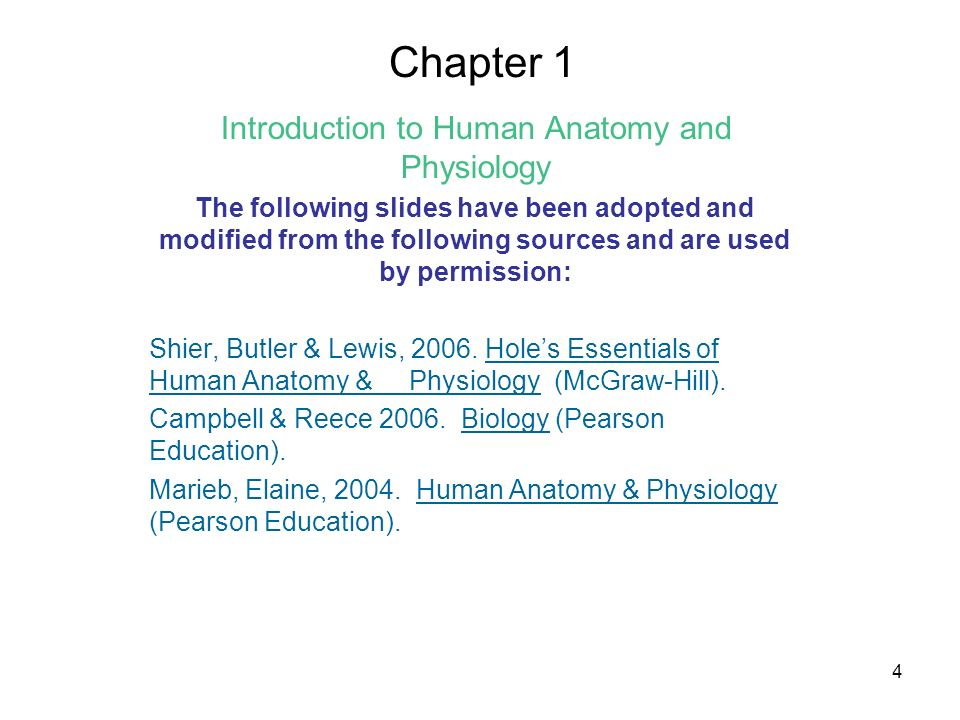 Human Anatomy & Physiology: Ch 1-2 Needed for Class: –3-Ring Binder ...