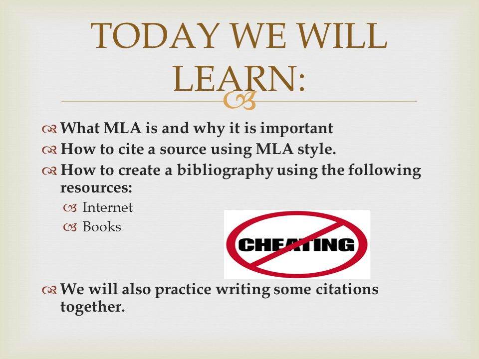 why is mla format important The box above shows general formatting for mla citations each type of citation will look a little different however, the important thing to remember is that all of the available information should be included.