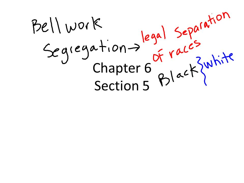 Chapter 6 Section 5