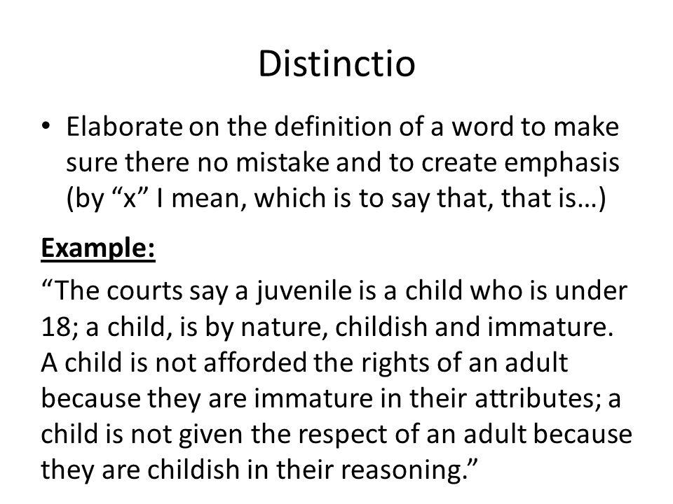 respect definition essay