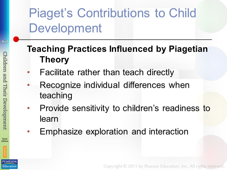 how piaget theory influences current practice From theory to practice in child language development john clibbens this paper addresses current theoretical perspectives on child language development, and their implications for intervention.