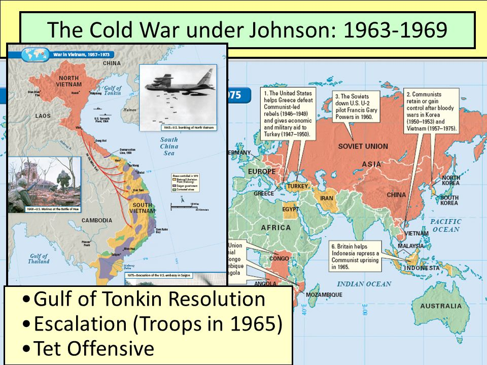 The Cold War: The Cold War under Kennedy: