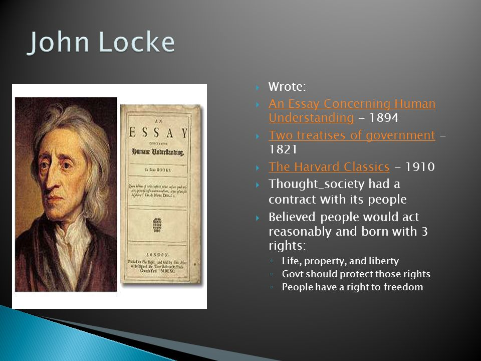 john locke essay book 2 The nook book (ebook) of the an essay concerning human understanding: full and fine 1689 edition in book 1, 2, 3, and 4 (illustrated) by john locke at.