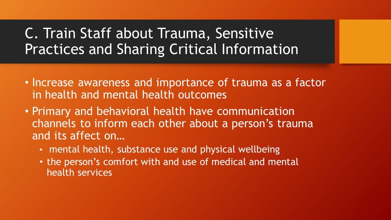trauma and its importance