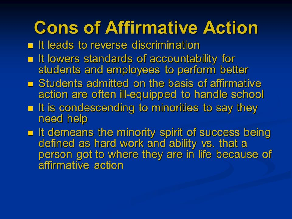 Examples of Affirmative Action in a Workplace   Chron com Students at the University of Michigan in Ann Arbor on Tuesday  The Supreme  Court decision