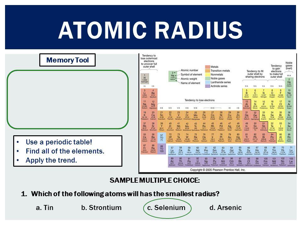 Chem to go lesson 11 unit 3 atomic radius ionic radius ppt 5 atomic urtaz Image collections