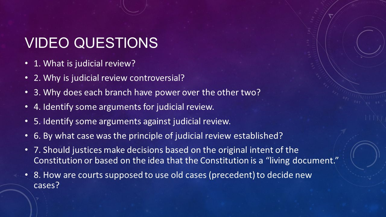 the controversy over judicial review Reconsidering the role of democratic legitimacy in the debate over american judicial review this paper joins the debate over judicial review not to take a.