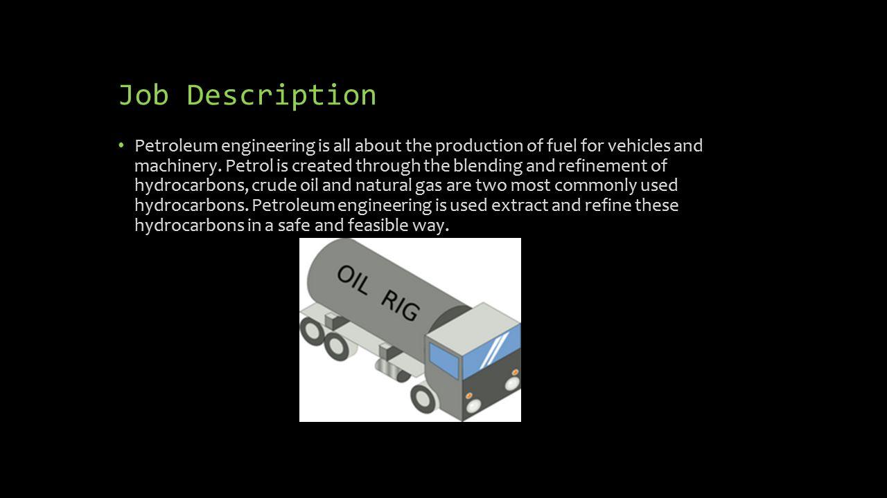 Superb 2 Job Description Petroleum ...