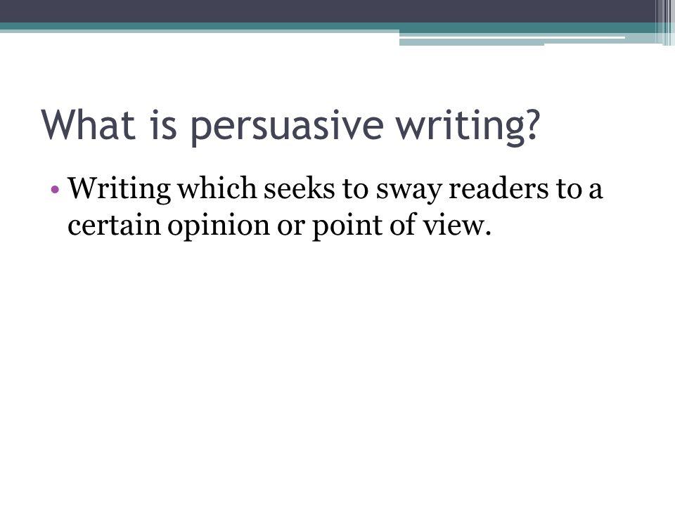 essay opinion format