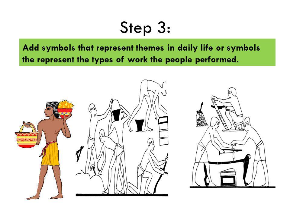 Egyptian Art Relief Drawing Standards Create An Original