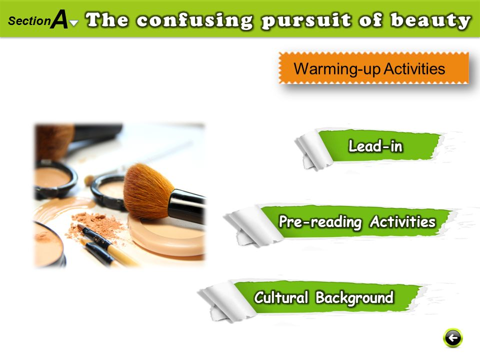 Warming-up Activities A Section