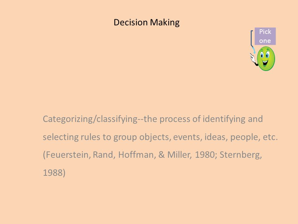 applying critical thinking in the decision-making process
