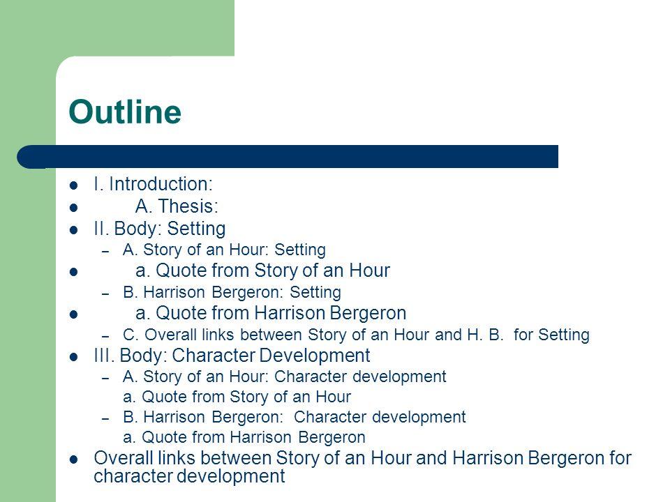 Harrison bergeron thesis