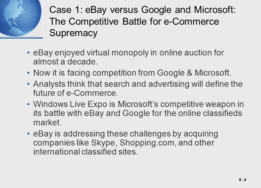 8- 25 Case 2: Entellium, Digg, Peerflix, Zappos, and Jigsaw: Success for Second Movers in e-Commerce For many internet companies, the second-mover advantage seems even more substantial.