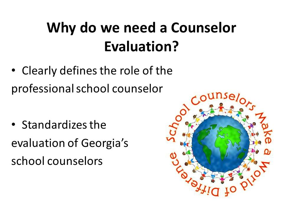 A Counselor Performance Evaluation Instrument Counselor Keys