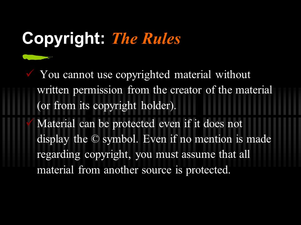 Copyright And Trademark Law What You Can Use And How You Can Use It