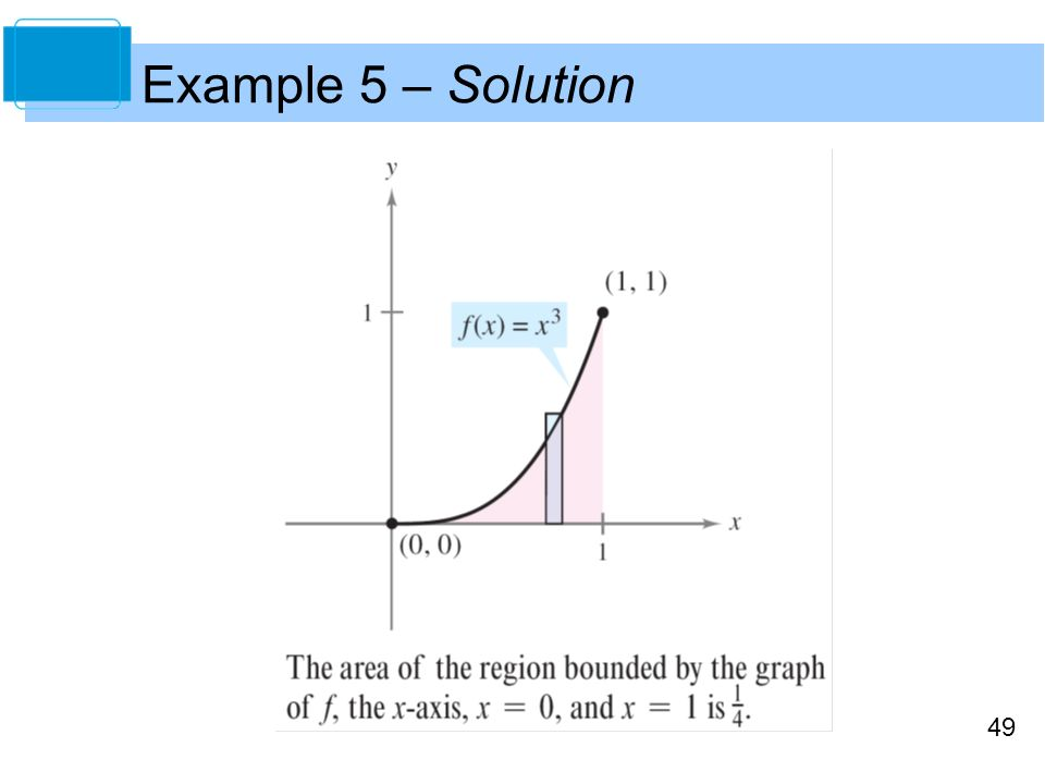 49 Example 5 – Solution