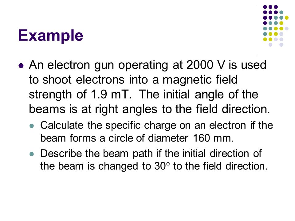 Charged Particles Discovery of Electron Electron beams in Fields ...