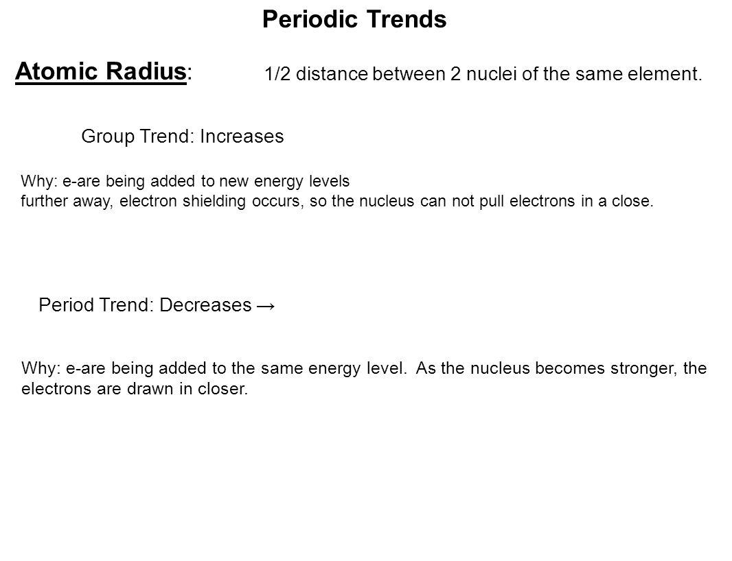 Periodic table set up periodic trends atomic radius 12 3 periodic gamestrikefo Gallery