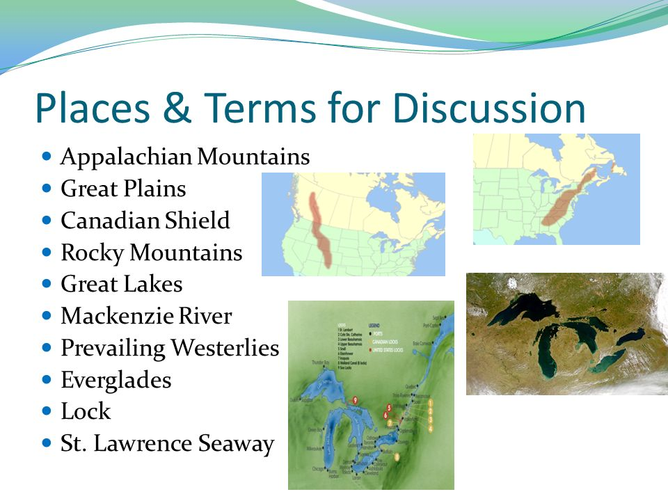 Graphic Organizer Use Your Atlastextbook Maps To Create A Graphic - Appalachian and rockies on us map