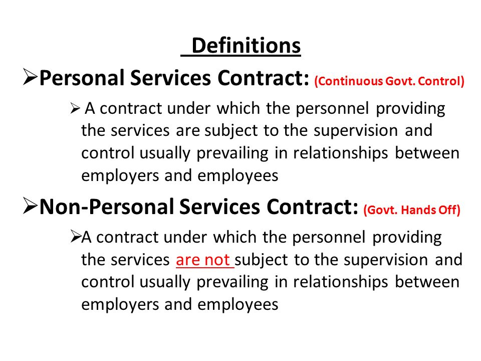 Far Part  Service Contracts Service Contracts Governed By The