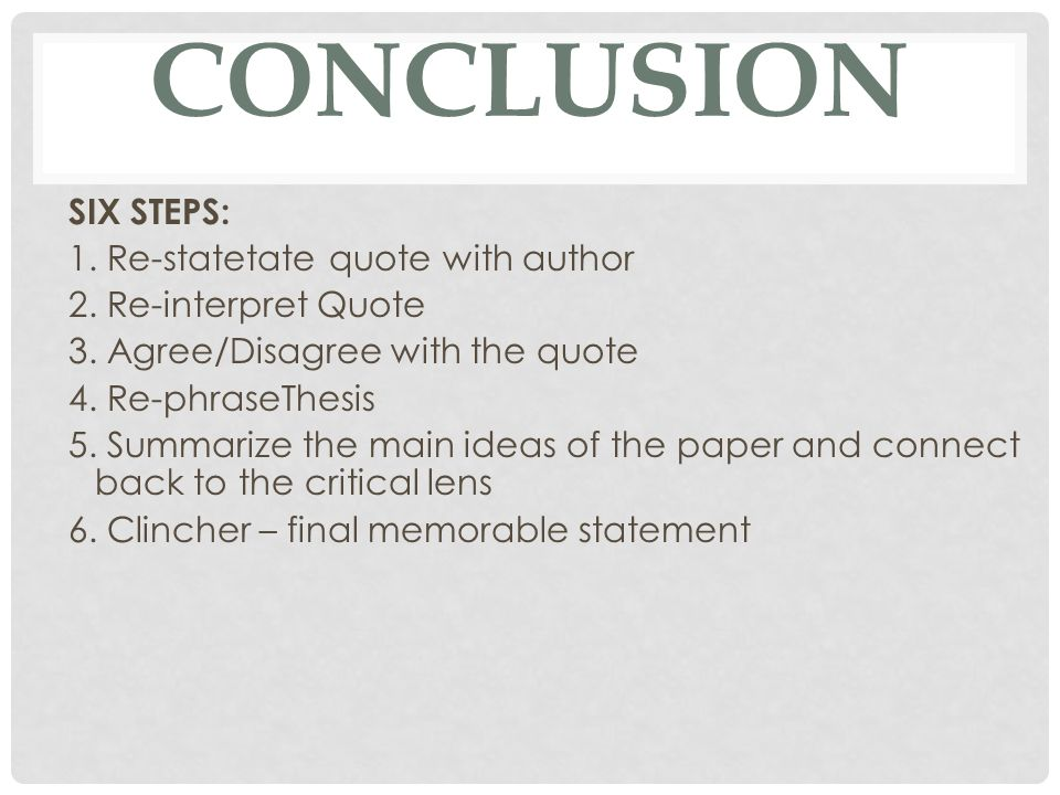 steps to writing a good critical lens essay Writing commons helps students improve their writing, critical thinking using first person in an academic essay: literary criticism welcome to writing commons.