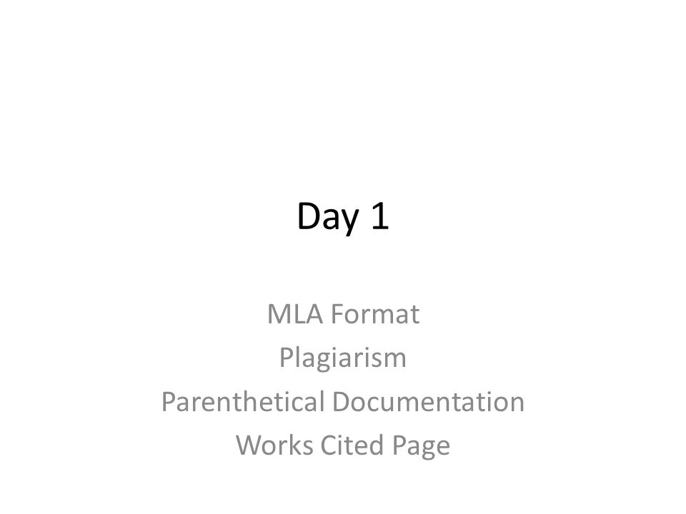 Can you help me with parenthetical citations for an MLA formatted research paper?