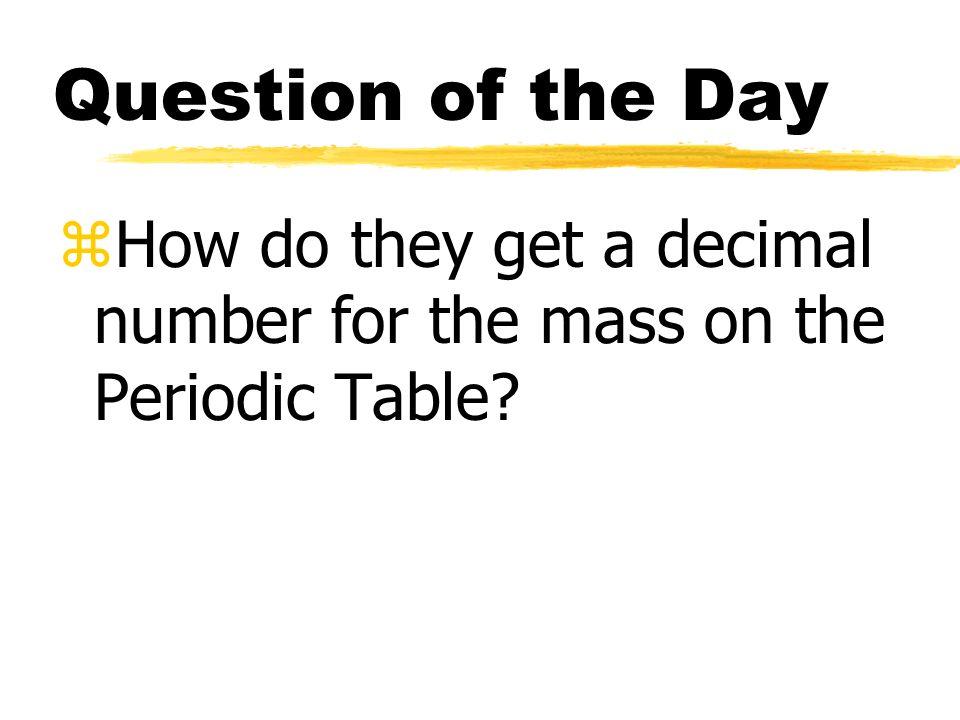 average atomic mass zwe said that the atomic number or of protons 2 average atomic mass - Periodic Table Atomic Mass Zinc