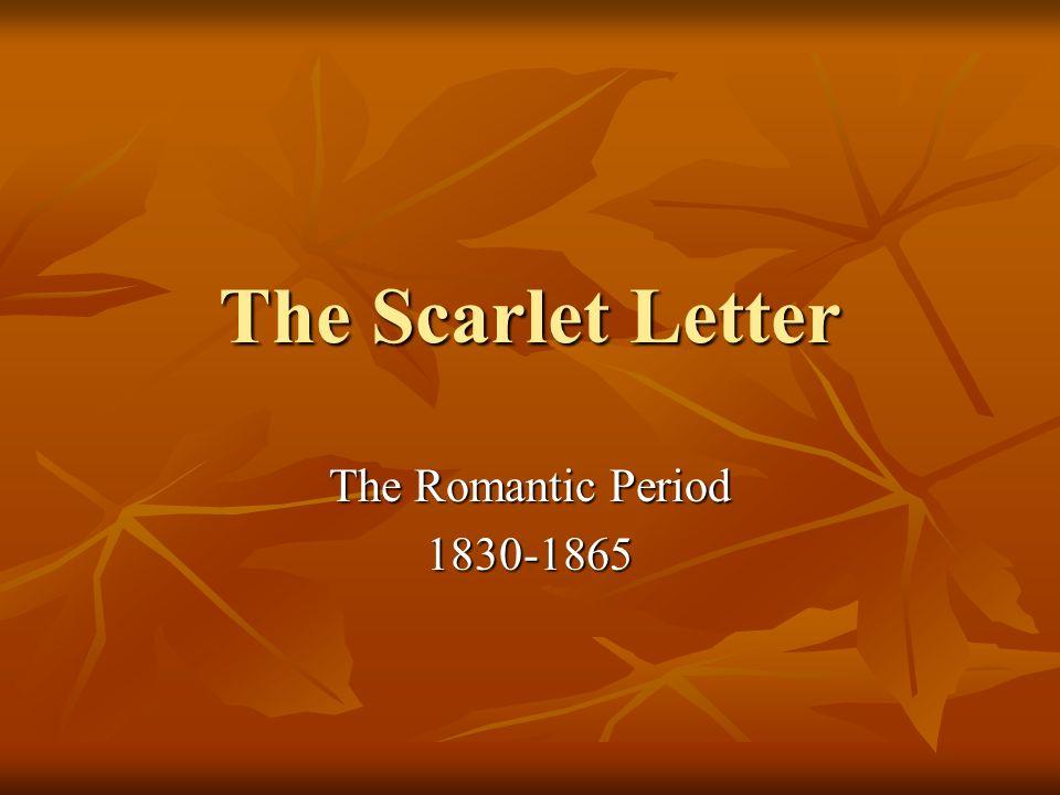 romanticism the scarlet letter