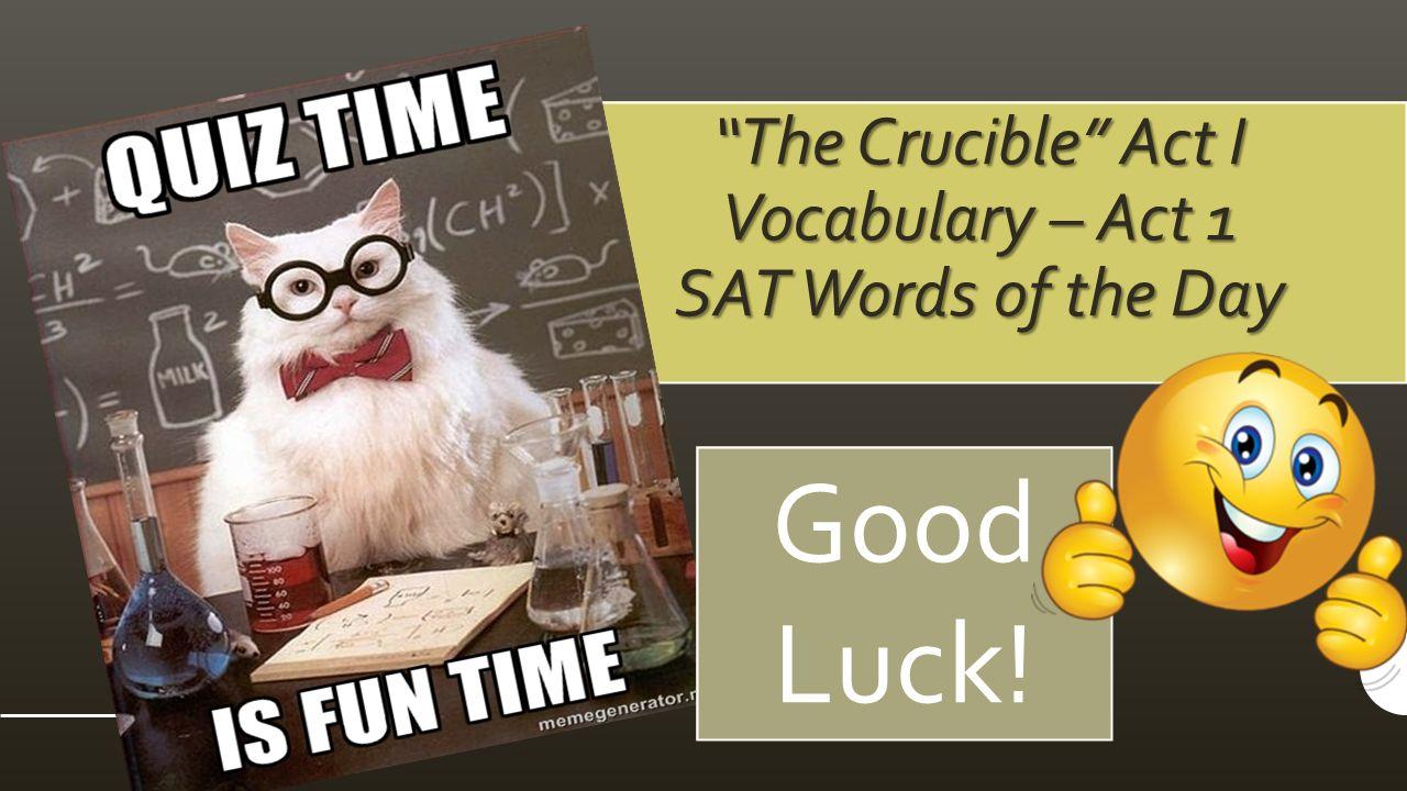 the crucible act 2