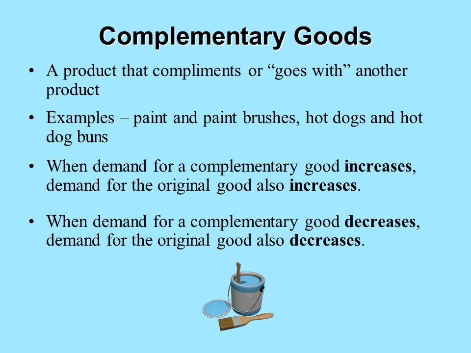 Determinants Of Demand Non Price Factors That Change Demand For A