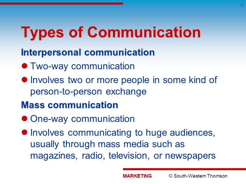 a discussion of the two ways of communication What are the functions of communication - definition & examples what is two-way communication what are the functions of communication.