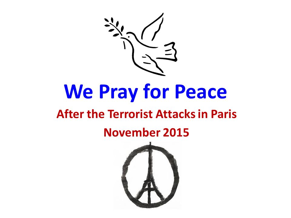 pray for paris peace