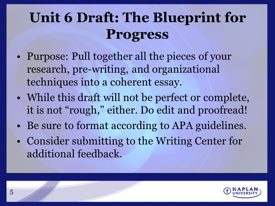 Cm 220 college composition ii unit 6 a blueprint for progress unit 6 draft the blueprint for progress purpose pull together all the pieces of malvernweather Images