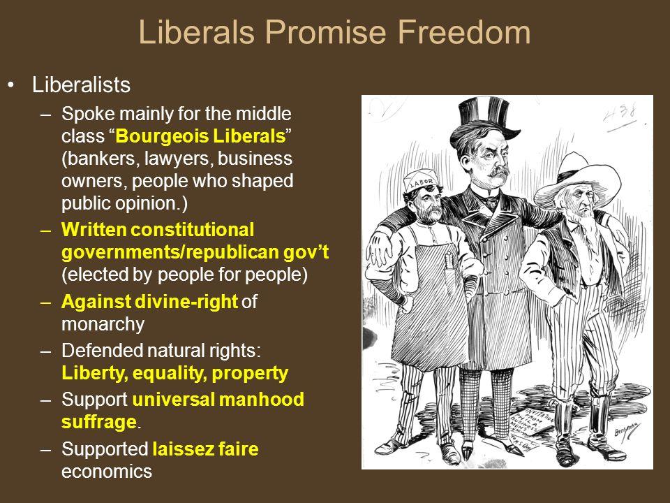 5 Liberals ...