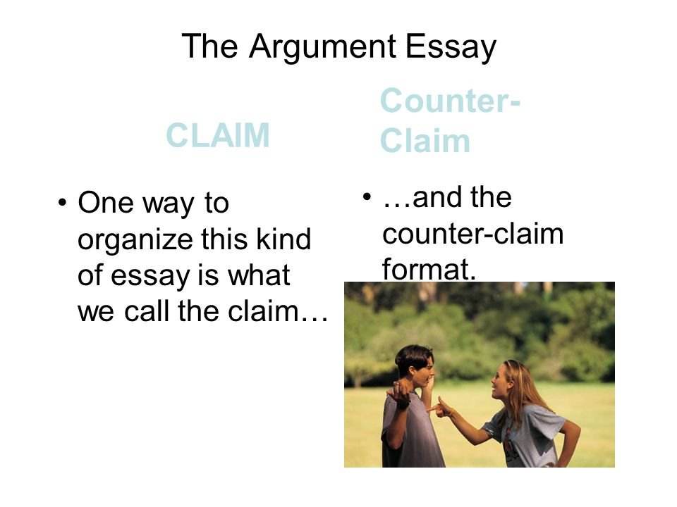 claim counterclaim essay  · need help with a counterclaim for my essay the sentence that starts with provided that is a new paragraph just letting you know update: i need.