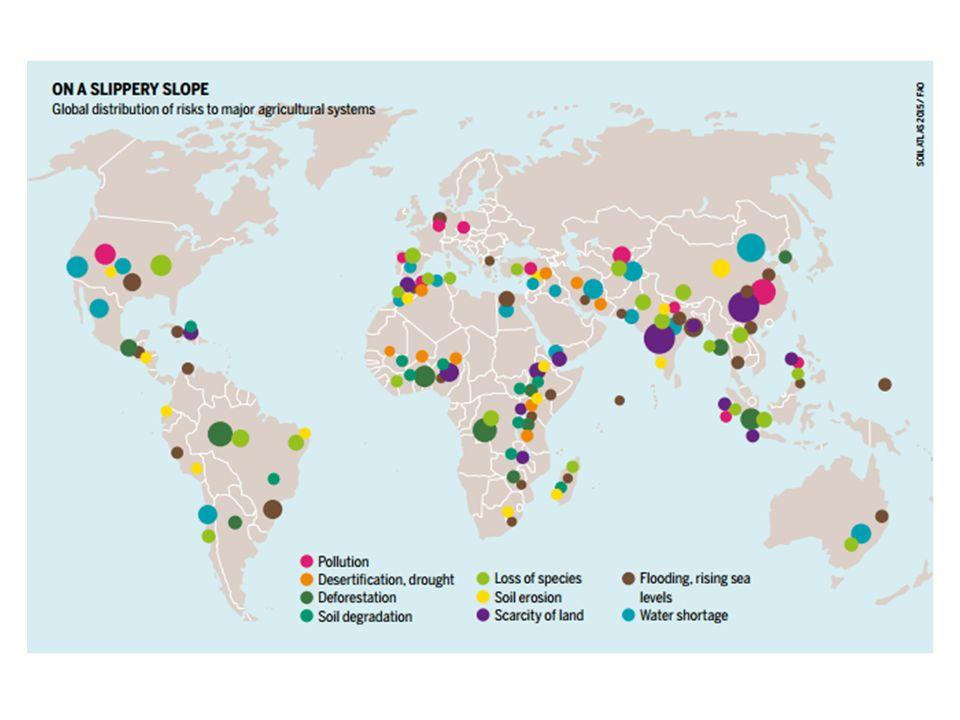 1 Explain Why Soil Degradation Happens 2 Discuss The - Desertification Us Soil Erosion Map Us