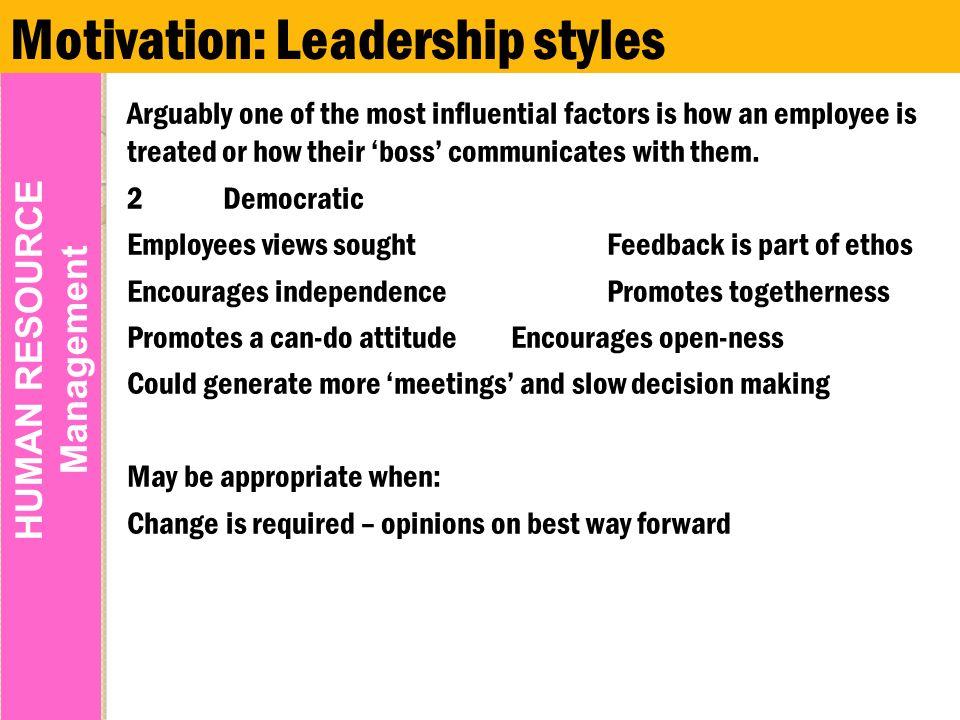 factors influencing leadership styles essay