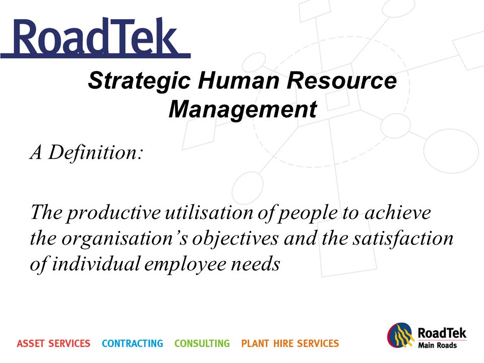 contribution of strategic hrm to the achievement of an organisation s objectives Chapter 2 developing and implementing strategic hrm of the major objectives the organization wants to plan and hr's role in the organization.