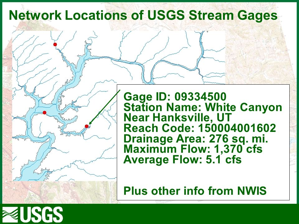 Contractor For The USGS At The EROS Data Center NHD Plus As A - 276 area code